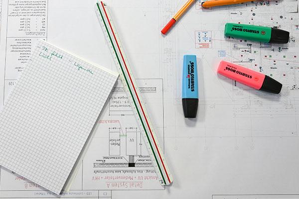 Planung-Zeichnung