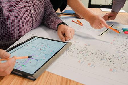 Tablet-technik-Team